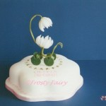 Christening Cake - Lily Pram Top Design